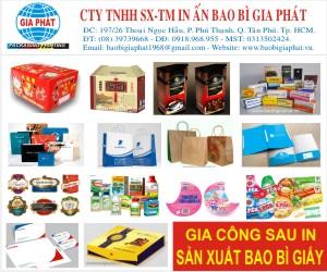 Công Ty TNHH SX TM In &#7844n Bao Bì Gia Phát