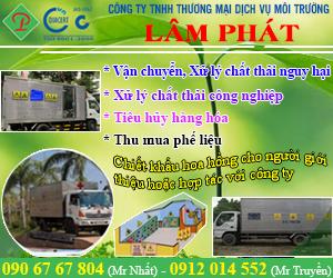Công Ty TNHH Th&#432&#417ng M&#7841i D&#7883ch V&#7909 Môi Tr&#432&#7901ng Lâm Phát
