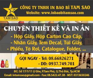 Công Ty TNHH In Bao Bì Tam Sao
