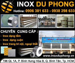 CÔNG TY INOX DU PHONG