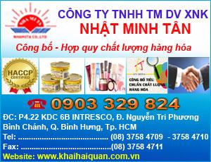 Công Ty TNHH TM DV XNK Nh&#7853t Minh Tân