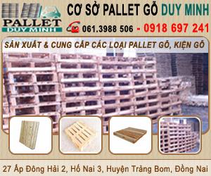 Công Ty TNHH MTV Pallet G&#7895 Duy Minh