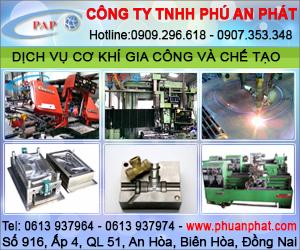 Công Ty TNHH Phú An Phát - Gia Công C&#417 Khí