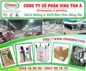 CÔNG TY C&#7892 PH&#7846N BAO BÌ VINA TÂN Á