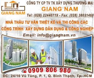 CÔNG TY XÂY D&#7920NG GIANG NAM
