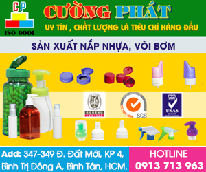 Công Ty TNHH Sản Xuất Thương Mại Nhựa Cường Phát - Nap Nut Nhua