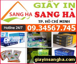 Công Ty TNHH Thương Mại Và Dịch Vụ Sang Hà -giấy in