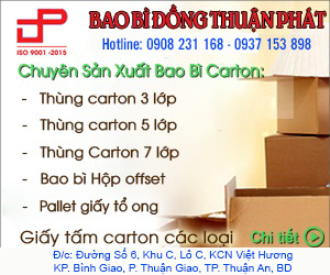 Công Ty TNHH Bao Bì Đồng Thuận Phát