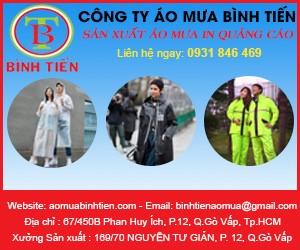 Áo Mưa Bình Tiến - Công Ty TNHH SX TM DV Bình Tiến