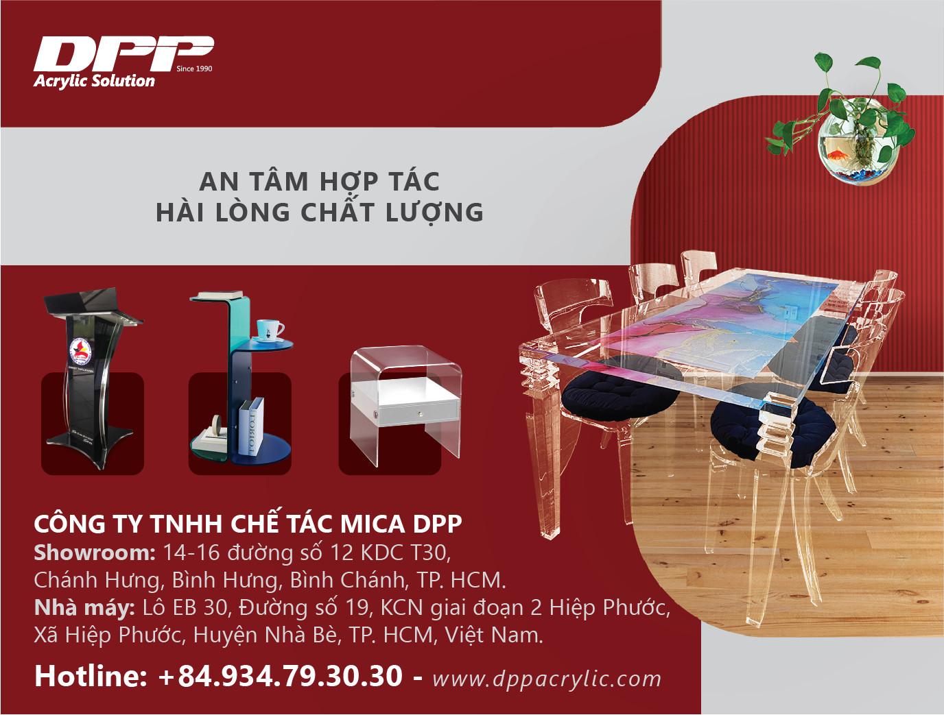 Công Ty TNHH Chế Tác Mica DPP