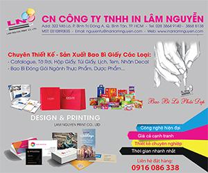 Công Ty TNHH In Lâm Nguyễn