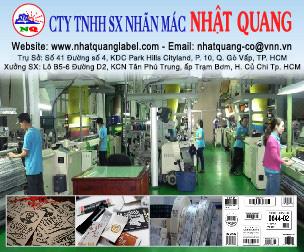 Công Ty TNHH Sản Xuất Nhãn Mác Nhật Quang