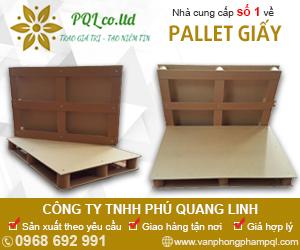 Công Ty TNHH Phú Quang Linh- Pallet giấy
