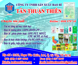 Công Ty TNHH S&#7843n Xu&#7845t Bao Bì Tân Thu&#7853n Thiên