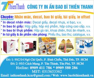 Công Ty TNHH TM In Ấn Bao Bì Thiên Thanh