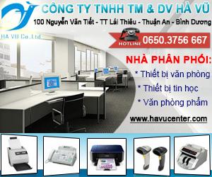 Công Ty TNHH Thương Mại Và Dịch Vụ Hà Vũ