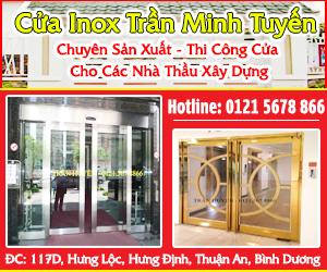 C&#7917a Inox Tr&#7847n Minh Tuy&#7871n